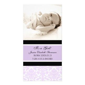 Aankondiging van de Geboorte van het Baby van de l Gepersonaliseerde Fotokaarten