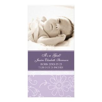 Aankondiging van de Geboorte van het Baby van de p Foto Wenskaarten