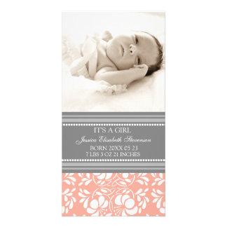 Aankondiging van de Geboorte van het Baby van de S Fotokaarten