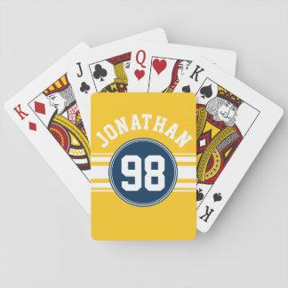 Aantal van de Naam van de Strepen van sporten het Speelkaarten