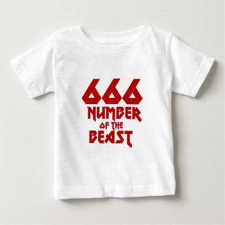 Aantal van het Dier Baby T Shirts