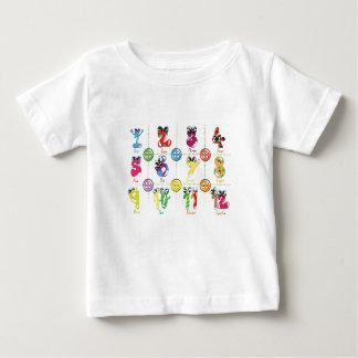 Aantallen Baby T Shirts