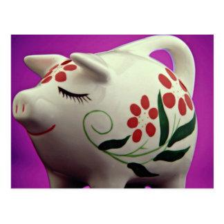Aantrekkelijk Spaarvarken Briefkaart