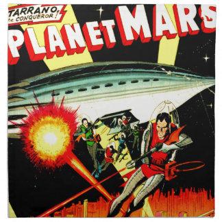 Aanval op Planeet Mars Servet