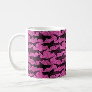 Aanval van de Hete Roze Grappige Haaien Koffiemok