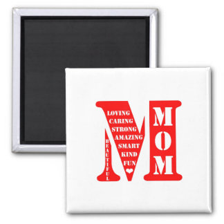 Aanwezig moederdag magneet