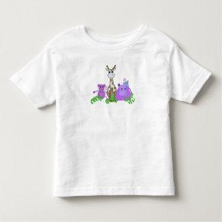 Aap, Giraf en Hippo Kinder Shirts
