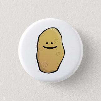 Aardappel Emoticon Ronde Button 3,2 Cm