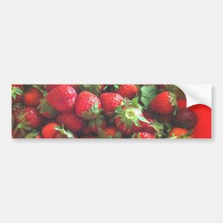 Aardbeien Bumpersticker
