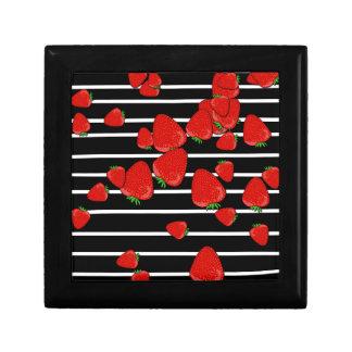 Aardbeien Decoratiedoosje