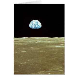 Aarde die over Maan toeneemt Kaart