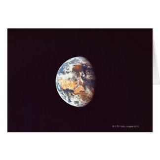 Aarde die van Ruimte wordt gezien Kaart