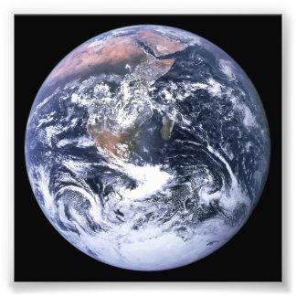 Aarde Fotoafdrukken