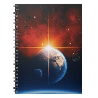 aarde ringband notitieboek