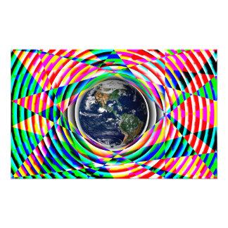 Aarde Vibes door Kenneth Yoncich Fotoprints