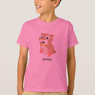 aardeekhoorn: smiley maar woest t shirt