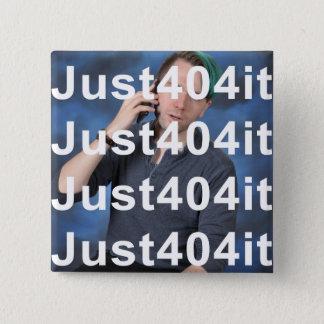 aardig, een ander ding met een handvat op het vierkante button 5,1 cm