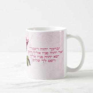 Aaronic die Hebreeër zegenen nam toe Koffiemok