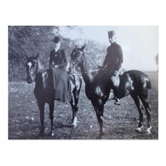 Aartshertogin op paardsidesaddle #003SS Wenskaart