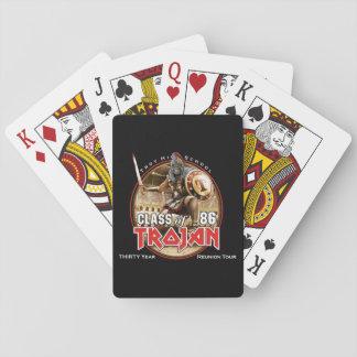 Aas Hoog met Eddie Pokerkaarten
