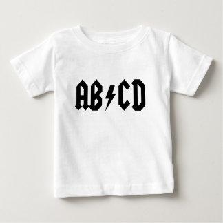 AB/CD BABY T SHIRTS