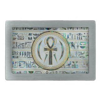 Abalone het Egyptische Dwarssymbool Ankh van Shell Gesp