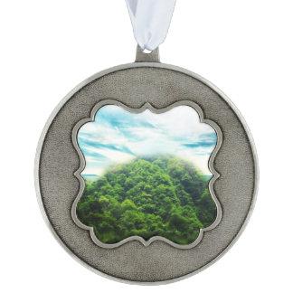 Abalone-meer Tin Geschulpt Ornament