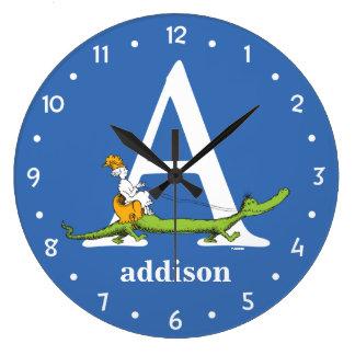 ABC van Dr. Seuss's: Brief A - Witte | voegen Uw Grote Klok