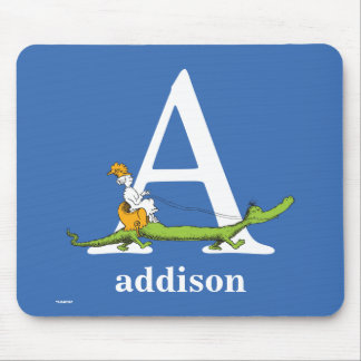 ABC van Dr. Seuss's: Brief A - Witte | voegen Uw Muismat