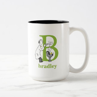ABC van Dr. Seuss's: Brief B - Groene | voegen Uw Tweekleurige Koffiemok