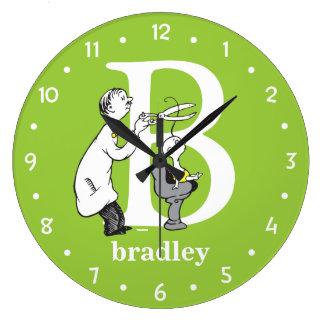 ABC van Dr. Seuss's: Brief B - Witte | voegen Uw Grote Klok