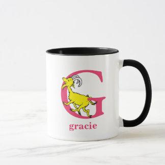 ABC van Dr. Seuss's: Brief G - Roze | voegt Uw Mok