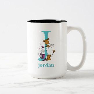 ABC van Dr. Seuss's: Brief J - Wintertaling | Tweekleurige Koffiemok