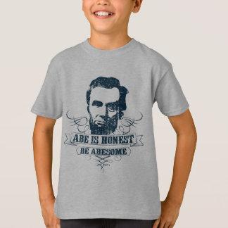 Abe is Eerlijk is Abesome T Shirt