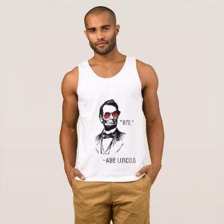 "Abe Lincoln ""Bro."" beroemd citaat, AbeBROham Hemd"
