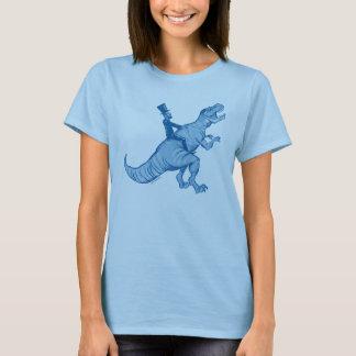 Abe Lincoln die T van een Vrouw berijden t-Rex T Shirt