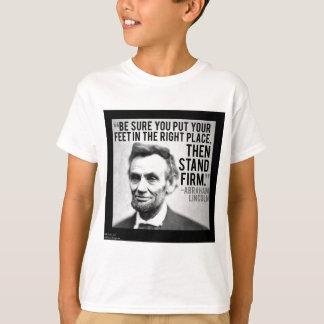 """Abe Lincoln & het Vaste"""" Citaat van de """"Tribune T Shirt"""
