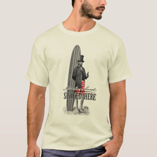Abe Lincoln Surfer T Shirt
