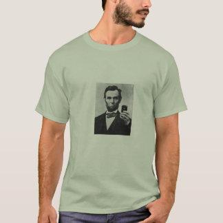 Abe Selfie T Shirt
