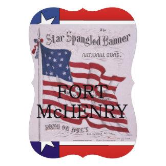 ABH Fort McHenry Gepersonaliseerde Uitnodiging