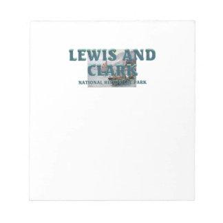 ABH Lewis en Clark NHS Notitieblok
