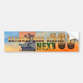 ABH Nationale Parken daarna 100 Bumpersticker