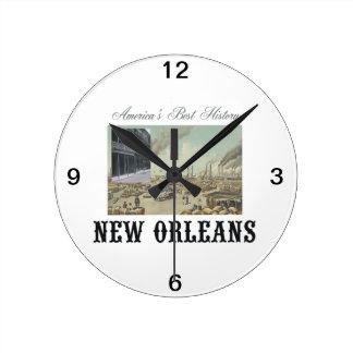 ABH New Orleans Ronde Klok