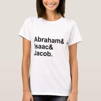 Abraham Isaac Jacob | 3 Patriarchen van Judaïsme T Shirt