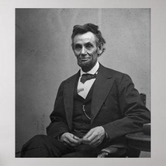 Abraham Lincoln 1865 Poster