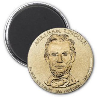 Abraham Lincoln $1 de Presidentiële Magneet van he