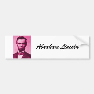 Abraham-Lincoln, Abraham Lincoln Bumpersticker