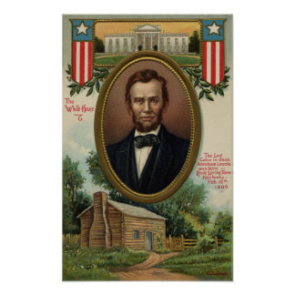 Abraham Lincoln & Blokhuis in Kentucky Poster