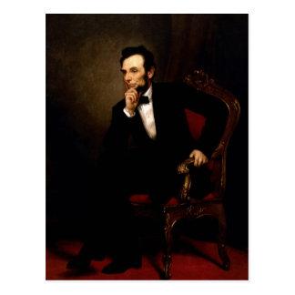 Abraham Lincoln Briefkaart