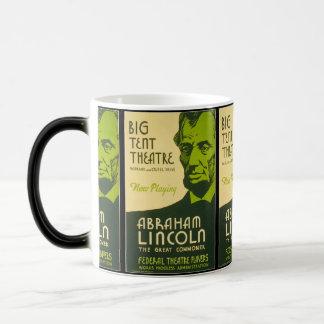 Abraham Lincoln Grote Gemeenschappelijker Magische Mok